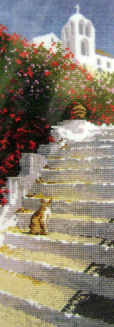 International GREEK STEPS Counted Cross Stitch Chart