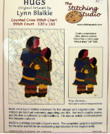 Lynn Blaikie HUGS Counted Cross Stitch Chart