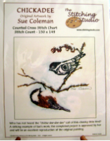 Sue Coleman CHICKADEE Counted Cross Stitch Chart