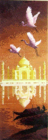 International TAJ MAHAL Counted Cross Stitch Chart