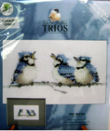 Valerie Pfeiffer THE BLUES Counted Cross Stitch Chart