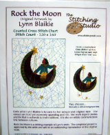 Lynn Blaikie ROCK THE MOON Counted Cross Stitch Chart
