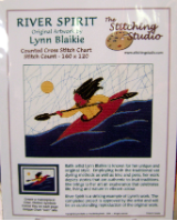 Lynn Blaikie RIVER SPIRIT Counted Cross Stitch Chart