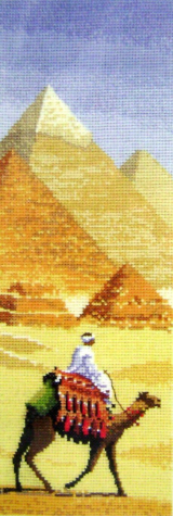 International PYRAMIDS Counted Cross Stitch Chart