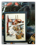 FISHING HARBOUR SCENE Counted Cross Stitch Chart