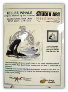 Sue Coleman KILLER WHALE Counted Cross Stitch Chart