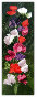 Flowers SWEET PEA Counted Cross Stitch Chart